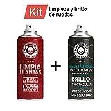Motorrevive - Kit (Limpia Llantas + Abrillantador Neumáticos)