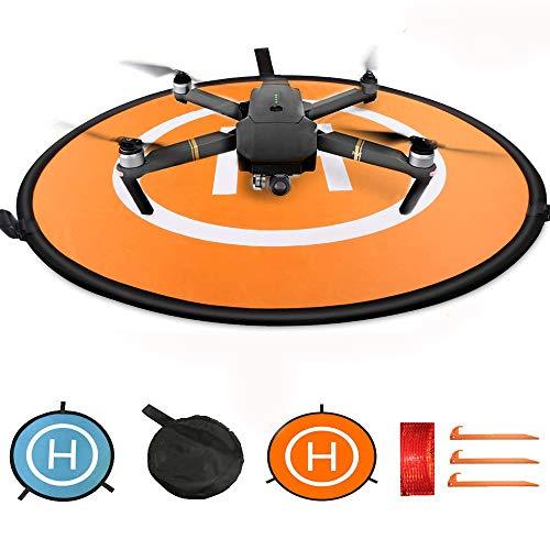 "KINGWON Drone Landing Pad Pista de Aterrizaje para dji Mavic Pro,Mavic Air Phantom 3 4 4 Pro,30\""(75cm)"