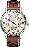 MeisterSinger Pangea Day Date PDD903 Reloj automático con sólo una Aguja Clásico & Sencillo