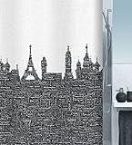 Spirella Urban Duschvorhang 180x200,