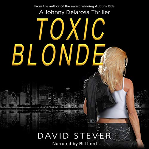 Toxic Blonde audiobook cover art