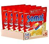 Somat Oro Cápsulas Lavavajillas - Pack de 5,...