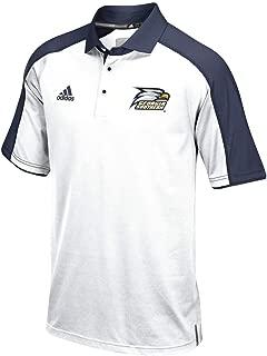 adidas Georgia Southern Eagles NCAA Men's Sideline Climalite Performance Football Coaches White Polo Shirt