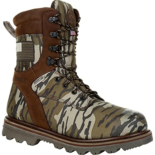 Rocky Stalker Waterproof 400G Insulated Made in the USA Outdoor Boot Size 10.5(M)