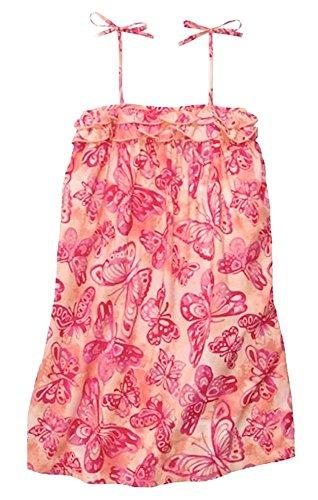 OshKosh B'Gosh zomerjurk 110/116 vlinders meisje roze USA size 6X draagjurk
