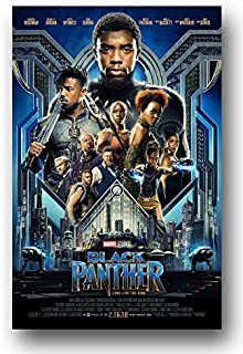 Black Panther Poster - Movie Promo 11 x 17 Inches Main