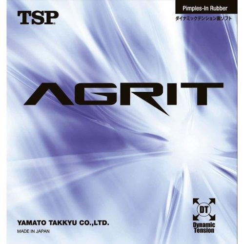TSP Agrit, Tischtennis-Belag, NEU, OVP (schwarz / black, max.)