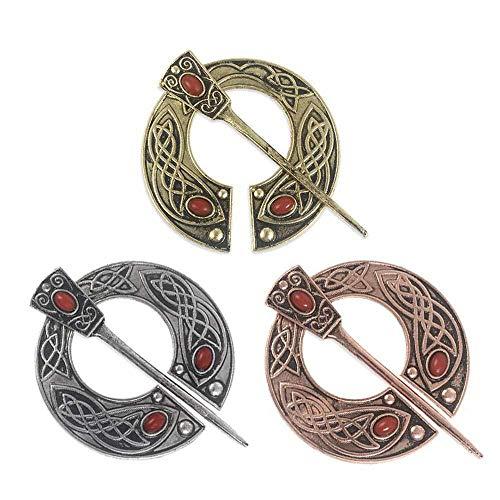 XONGZZJ Brosche,Silber Bronze Kupfer Brosche Für Kleid Suite Mantel Für Männer Frauen Schmuck Zubehör Broschen