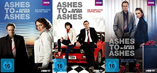 Ashes To Ashes - Zurück in die 80er - BBC TV-Serie 24 Episoden - Staffel 1 2 3 Complete 9 DVD Box Collection