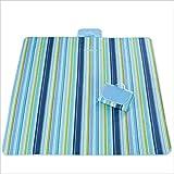 Picknickdecke Zeltteppich mit Tragegurt und Tasche Wasserdichter Rücken Tragbarer faltbarer...
