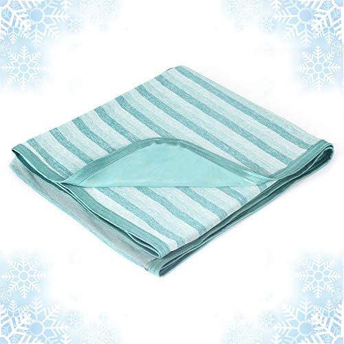Cooling Blanket with Double Sided Cold,Queen Size Big Luxury Bed Blankets,Lightweight Breathable Summer Blanket,Transfer Heat to Keep Adults,Children Cool for Hot Sleepers Night Sweats,with Travel Bag