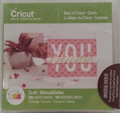 Cricut Cartridge, Best of Cricut - Cards