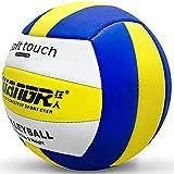 Senston Pelota de Voleibol Talla Oficial 5, Interior Exterior Playa Volleyball para Piscina, Gimnasio, Entrenamiento