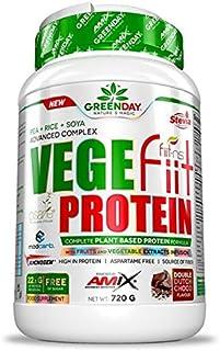Amix Greenday vegefiit Proteïne 720 gr – Smaak – cacahuete-choco-caramelo