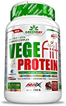 Amix Greenday vegefiit Protein 720A grA aE A TasteA aE A doble-chocolate Estimated Price : £ 27,00