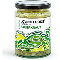 Loving Foods Orgánico Chucrut Clásico (500g) CRUDO | SIN PASTEURIZAR | VIVO (1 x Jar)
