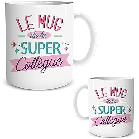 STC Tasse mug de la Super collègue