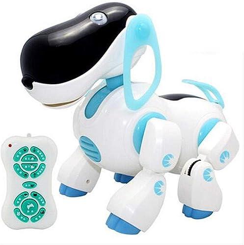 en promociones de estadios SJHFDICKJFIF SJHFDICKJFIF SJHFDICKJFIF Inteligente Mascotas Perro Robot,Radio Control Reconocimiento De Voz Caminar,Electronic Pet Toy para Ninos,Regalo,azul  tienda