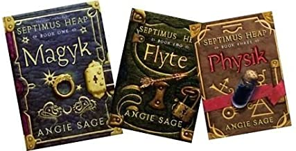 Septimus Heap: 3 Book Collection Pack: Magyk Flyte Physik
