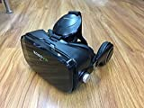 CCLOON 3D VR Glass Headset 360° Viewing Upgraded and Much Lighter Version Virtual Reality Headset with Headphone for 4.7-6.2 Inches Android Smartphones IOS iPhone (Black)