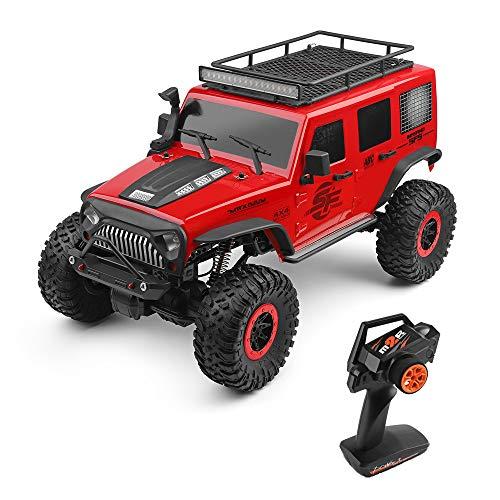 Goolsky WLtoys 104311 RC Car 2.4G 1/10 4WD Jeep Car SUV Motore Spazzolato Telecomando Fuoristrada