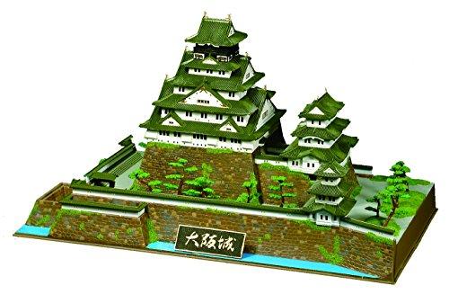 童友社 1/350 日本の名城 DXシリーズ 重要文化財 大阪城 プラモデル DX2