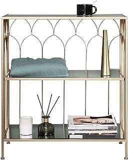 Bookshelf Nordic Wrought Iron Shelf Corner Shelf Floor Glass Cabinet Against Wall Storage Shelf Creative bookshelf