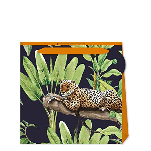 Creative Lab Amsterdam Leopard Mighty Small Tas, afmeting: 130 x 130 x 70mm