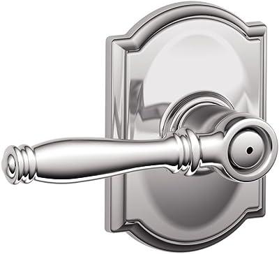 Schlage F10 Bir 625 16 080 10 027 Birmingham Hall And Closet Lever Bright Chrome Doorknobs Amazon Com