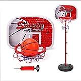 LYXCM Los Niños del Aro De Baloncesto, Regulable En Altura Los Niños De Baloncesto del Hardcore Baloncesto Basket Juego Básico De Pie Estructura Robusta