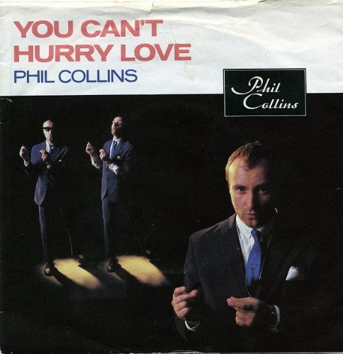 """You Cant Hurry Love - Phil Collins 7"""" 45"""
