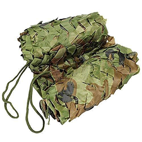 Carl Artbay luifelzeil schaduwnet camouflagennet Woodland camping vogelobservatie decoratie Oxford stoffen net (grootte: 3x5m) camouflage camouflagenet