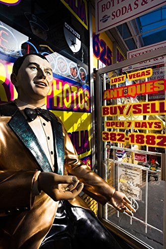 The Poster Corp Panoramic Images – Frank Sinatra statue Las Vegas...