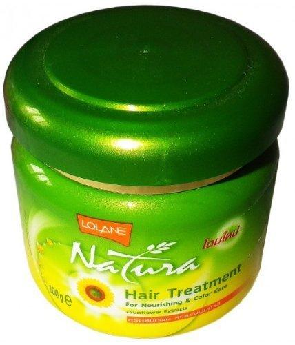 Lolane Natura Hair Treatment Nourish Color Care Sunflower (Size: 100ml)