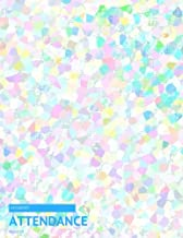 """Student Attendance Register: Pink & Blues Tracker Notebook For Teachers, Record Attendance, 35 Names 