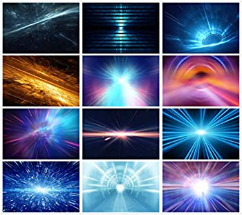 PSD late special effects technology blue light emission light halo dynamic dream PSD material science light images 0236