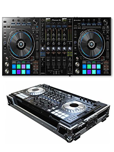 Lowest Price! Pioneer DDJ-RZ + Odyssey FZPIDDJSZW Case Bundle