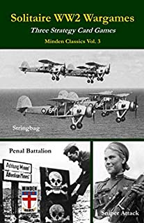 Solitaire WW2 Wargames: Three Strategy Card Games (Minden Classics)