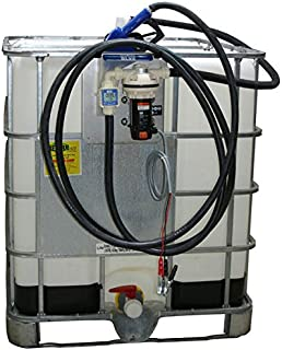 American Lubrication Equipment Tim-DEF-6 Electric Pumping System, IBC Tank (Tote), Automatic Nozzle, 12V