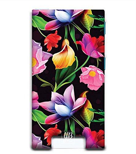 YuBingo Designer Printed Plastic Mobile Back Case Cover Panel for Apple iPod Nano 7 (Set of Colourful Flowers)