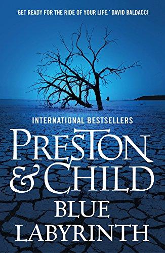 Blue Labyrinth Pendergast 14 By Douglas Preston