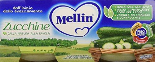 Mellin Omogeneizzato Zucchine 2 x 80 g