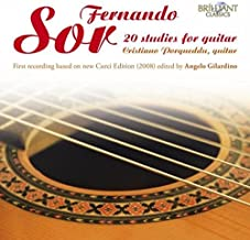 20 Studies for Guitar by F. Sor (2013-08-03)