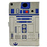TPACC Case for Galaxy Tab A 10.1 2019, R2D2 Astromech Droid Robot Design Leather Flip Stand Case Cover for Samsung Galaxy Tab A 10.1 SM-T510/SM-T515