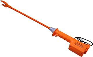 M.Z.A Livestock Prod Electric Cattle Prod Long Stock Prod Stick for Cow Pig Sheep 31 Inches Batteries-Operated Orange