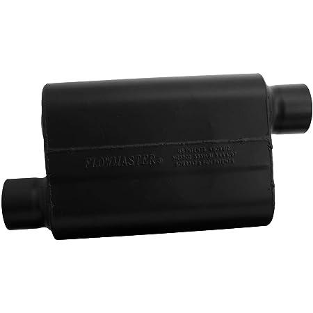 Flowmaster 943048 Super 44 Muffler 3.00 Offset Out-Aggressive Sound Black