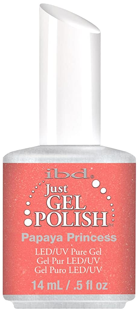 スパイ大惨事登録IBD Just Gel Polish - Papaya Princess - 0.5oz / 14ml