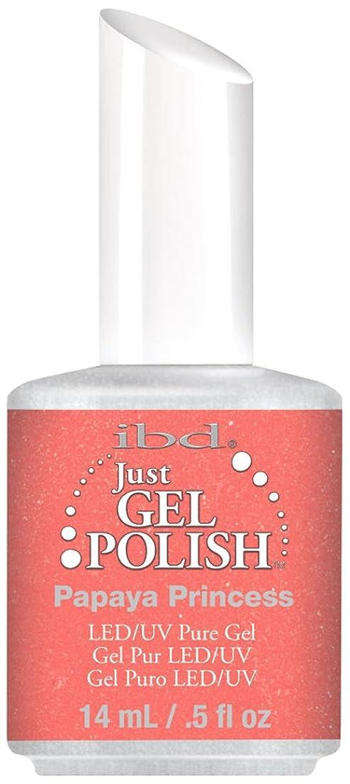 好む不和変数IBD Just Gel Polish - Papaya Princess - 0.5oz / 14ml