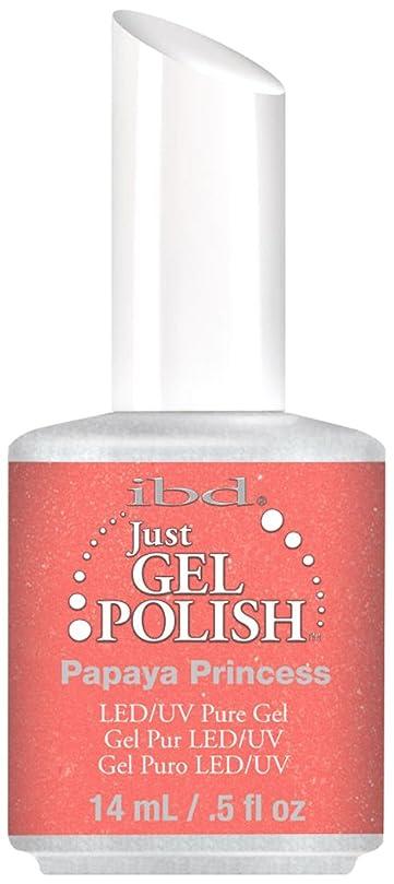 見通し釈義寝具IBD Just Gel Polish - Papaya Princess - 0.5oz / 14ml