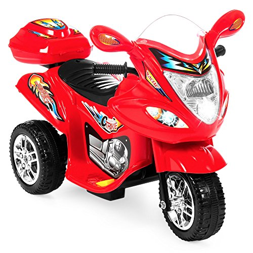 Best Choice Products Kids Ride On Motorcycle 6V Toy Battery Powered Electric 3...